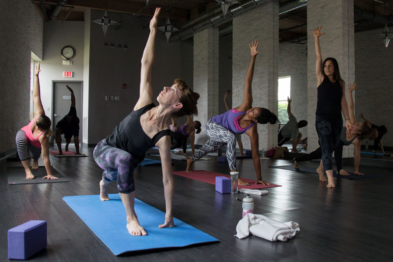 Sky Fitness Chicago - Corporate Wellness Program - Free Hot Yoga