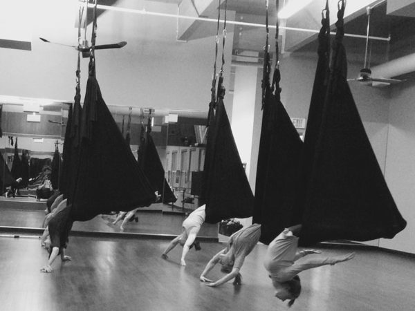 Sky Fitness Chicago - Classes and Programs - Yoga Classes - Aerial Yoga