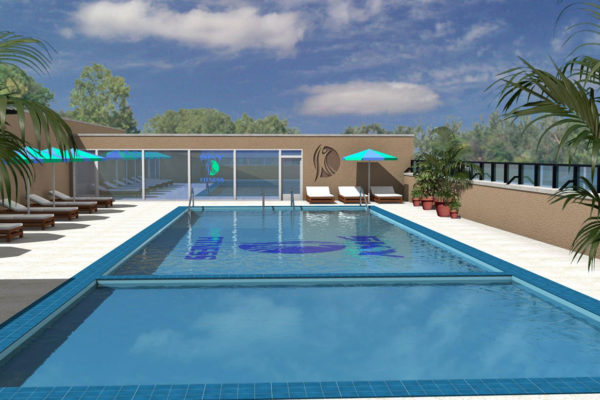 Sky Fitness Chicago - Rooftop Pool & Club House