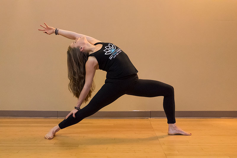 Sky Yoga Chicago - Yoga Teacher Training - Stacey Adamczyk Reverse Warrior