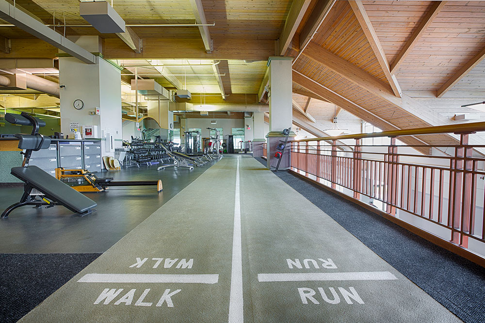Sky Fitness Chicago - Amenities - Running Track