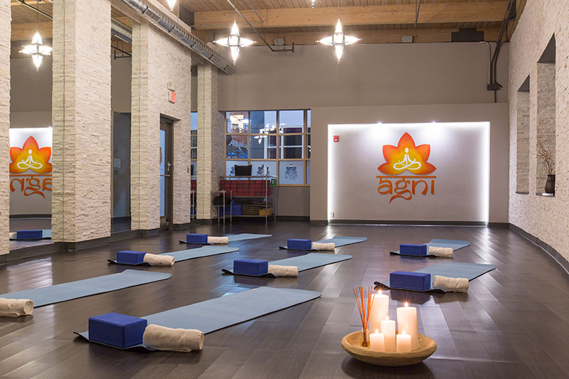 Sky Fitness Chicago - Amenities - Agni Yoga