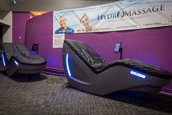 Sky Fitness Chicago - Amenities - Hydromassage