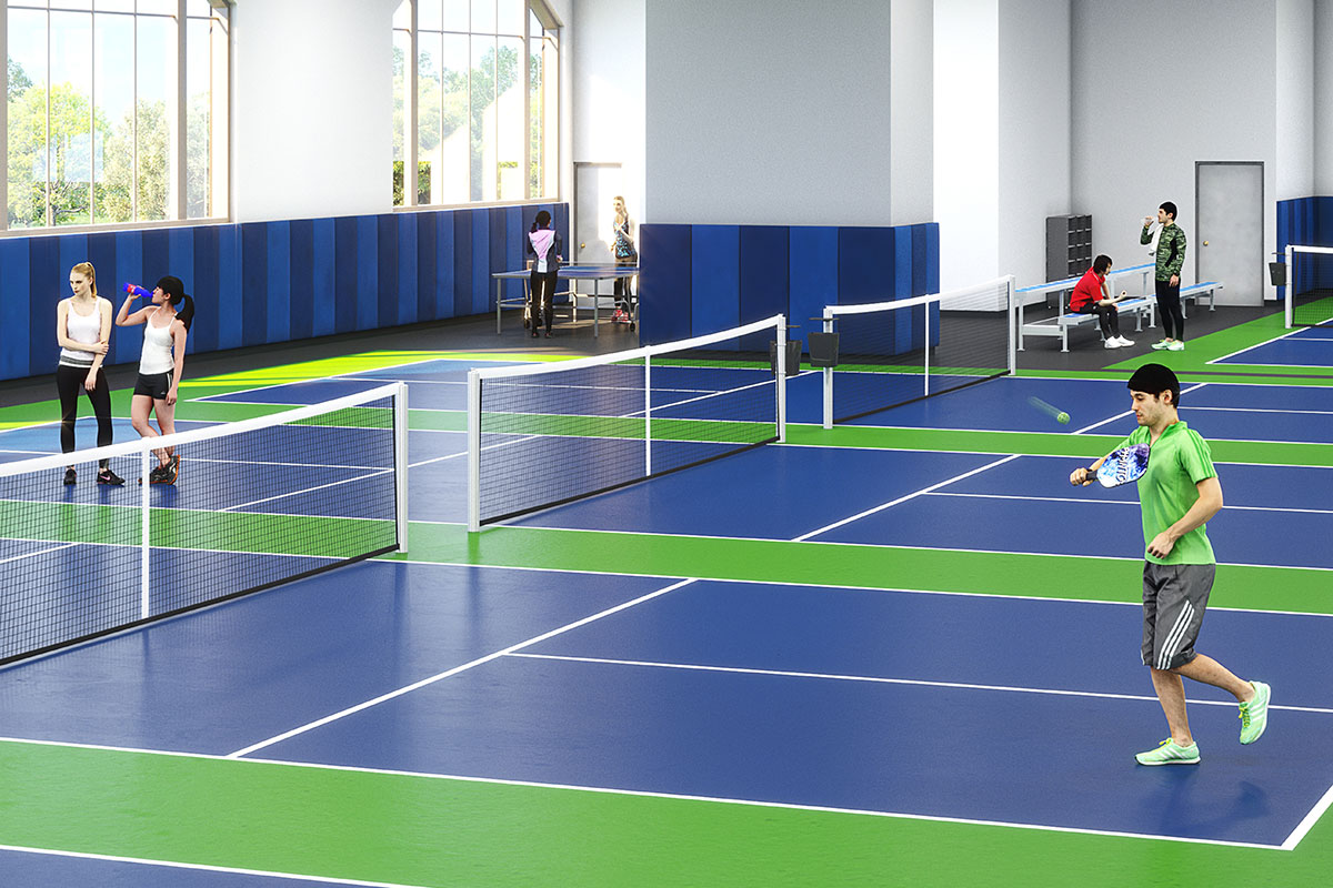 Experience Indoor Pickleball Courts at Sky Fitness Chicago