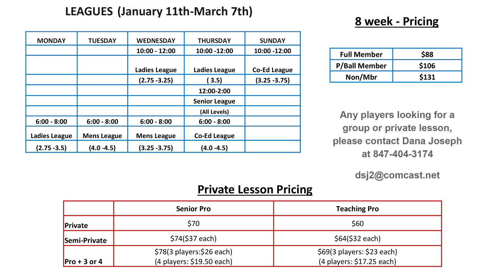 Sky Fitness Chicago - United Pickleball Management - UPM Pickleball - Lessons Leagues Pricing