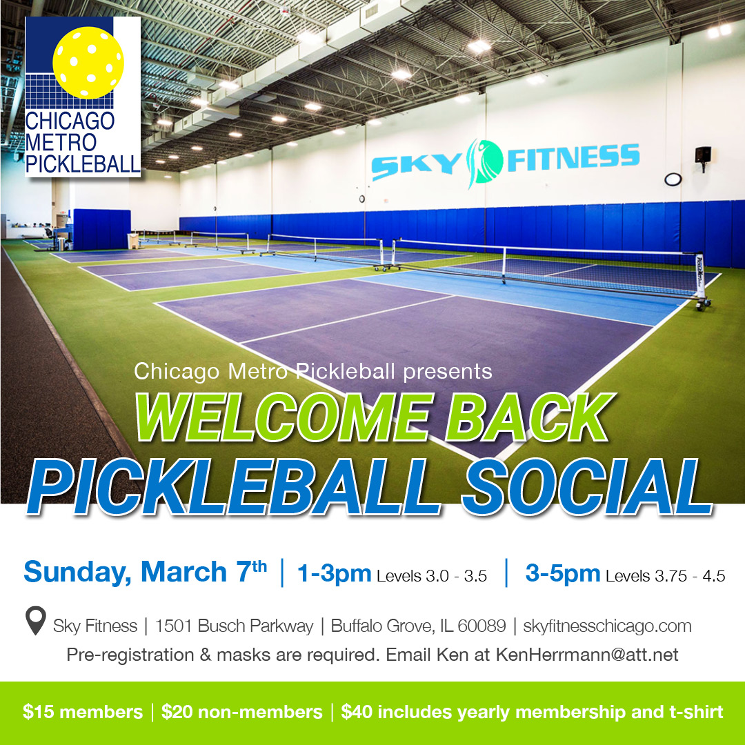 Welcome Back Pickleball Event
